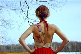 Бабочки в душе и голове))