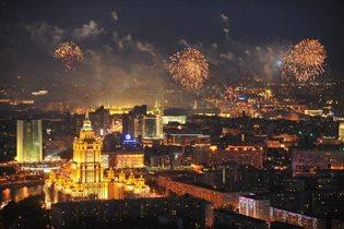 23-26 февраля на смотровой площадке Москва-Сити: салют, уникальная экскурсия и выставка