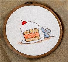 Мышь с тортом - Neocraft