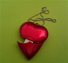 Флэшка в виде сердечка
