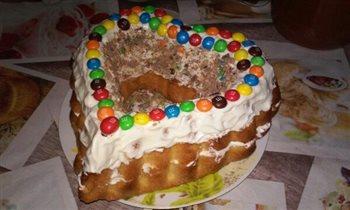 Торт ( сердце для любимых)