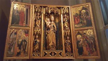 деревянные иконы 1430 года