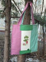 ЭкА-сумка в проект св. Патрик