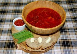 Постные супы. Борщ постный: рецепт