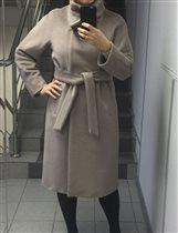 Пристрой. Кашемировое пальто Kroyyork. 170-96.