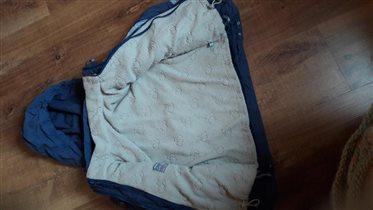 Куртка сине-голубая рост 110