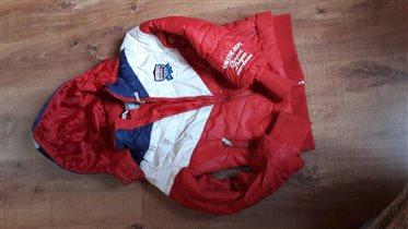 Куртка на холодную весну 128-134