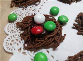 Шоколадные гнезда