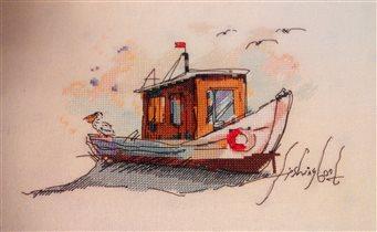 Панна Рыбацкая лодка