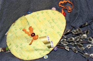 Текстильное яичко