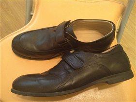 П/ботинки Tiflany школьные д/мальчика р 37