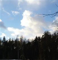 Облака-это ангелы