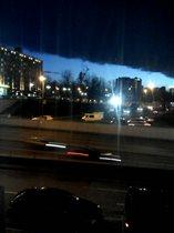 Такое странное облако я видела из своего окнп