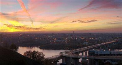 облака Нижнего Новгорода