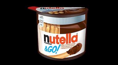 Nutella&GO уже в России!