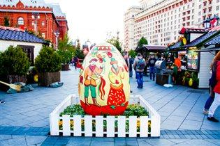 """На фестивале """"Пасхальный дар"""" установят более 300 арт-объектов и декоративных элементов"""