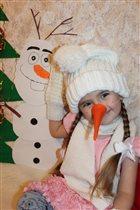 Наш любимый снеговичок Олаф