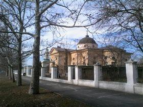 Храм построеный в честь  Екатерины 2 в г, Херсон