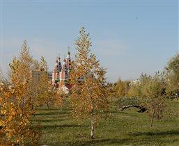 церковь Пантелемона целителя г.Отрадный.