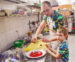 Рецепты закусок - от ресторатора Максима Горячева и его сына