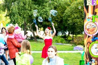 День защиты детей в парках СВАО