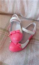 Туфли  размер 34, 21,5 по стельке. 500 руб.