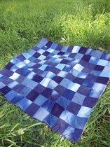 Джинсовое одеяло
