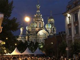 Санкт-Петербург, белые ночи , июнь, 2017