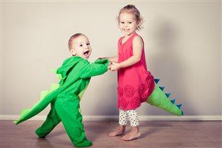 Дружба динозавриков