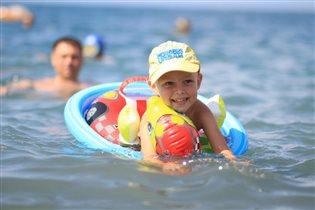 Летняя радость-море!