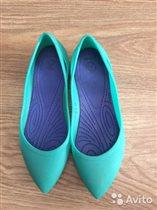 Балетки crocs для девочки размер W5