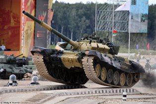 Двадцать стран сразятся в танковом биатлоне в Подмосковье