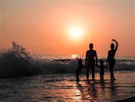 Отпуск - время и любви и закатов...