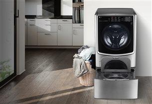 Стиральная машина LG TWINWash с функцией сушки
