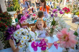 Куда пойти с детьми: фестиваль 'Московское лето. Цветочный джем'
