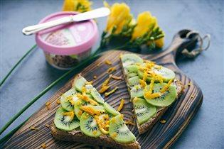 Готовим летний  завтрак с сыром Violette  за  15 минут