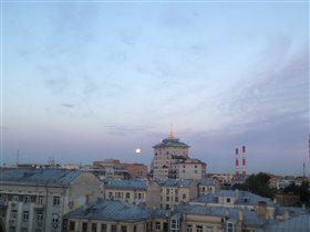 Москва в лунном свете