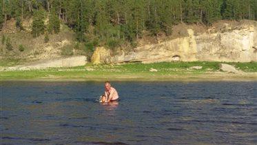 +40 в тени. Якутия, река Амга. Лето 2017 на Севере
