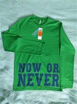 Новая футболка д/мальчика Benetton 2XL 359р