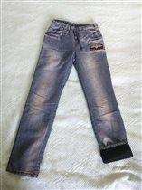 Б/У джинсы на флисе GEE JAY 10-11/146 500р