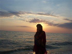 Чёрное море. Крым. Бахчисарай. 'На закате'
