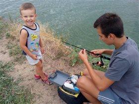 На рыбалочке