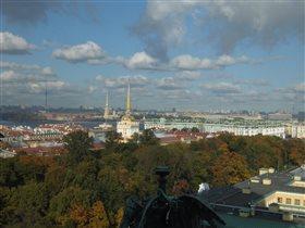 Одно из самых любимых мест СПб - колоннада Исакия