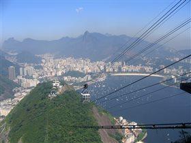 Рио-де-Жанейро. Вид с горы Сахарная Голова.