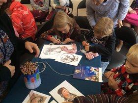 Бесплатные мастер-классы для детей в историческом шатре на фестивале «Спасская башня»