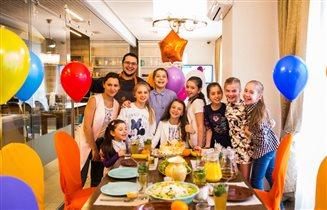 Детский кулинарный мастер-класс с бургером, Машей и медведем