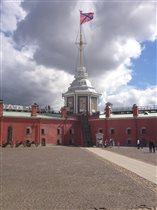 Петропавловская крепость .
