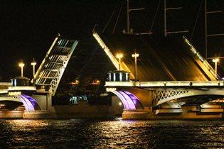 Ночной Питер!!!Ночные мосты!