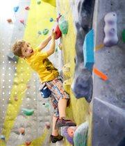 Серия открытых уроков по скалолазанию для детей на скалодроме Limestone