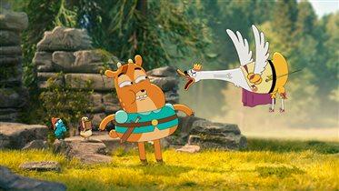 Запуск нового мультсериала «Героическое путешествие доблестного принца Ланселося»